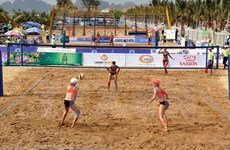 Tournoi de volley-ball de plage feminin d'Asie 2017 à Can Tho