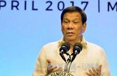 Le chef de l'Etat philippin rend publique une déclaration de la présidence de l'ASEAN