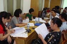 Formation à l'utilisation du guide sur la démarche-qualité à Hanoï