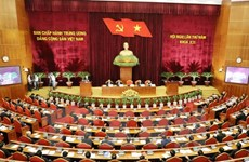 La 1ère journée du 5e Plénum du Comité central du PCV