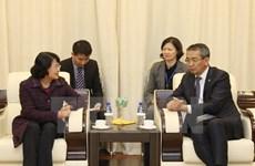 La vice-présidente Dang Thi Ngoc Thinh entame sa visite officielle en Mongolie