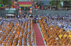 Célébration solennelle du Vesak 2017 à Hanoï