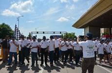 Course philanthropique en l'honneur des 50 ans de la fondation de l'ASEAN au Cambodge