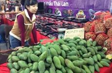 Les Vietnamiens aiment les fruits thaïlandais