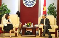 Développer la coopération entre le Vietnam et les États-Unis