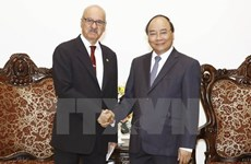 Le PM Nguyen Xuan Phuc reçoit le directeur général de l'OFID