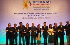 Réunion des hauts officiels de l'ASEAN à Manille