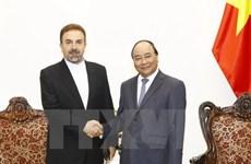 Le Premier ministre Nguyen Xuan Phuc reçoit l'ambassadeur iranien