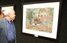 Bientôt une exposition aux Etats-Unis sur la peinture sur soie vietnamienne