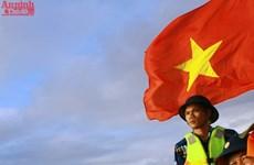 La beauté des soldats de la Marine populaire du Vietnam