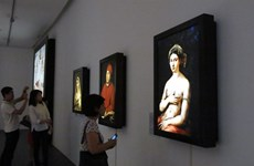 Exposition de 34 œuvres numérisées de Raphaël