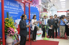 Exposition de livres en japonais à HCM-Ville