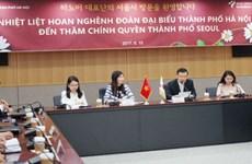 Hanoi renforce sa coopération avec des localités sud-coréennes et japonaises