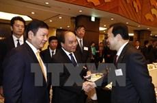 Les allocutions du PM Nguyên Xuân Phuc à Tokyo largement couverte par la presse japonaise