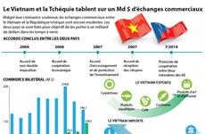 Le Vietnam et la République tchèque tablent sur un Md $ d'échanges commerciaux