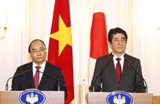 L'entretien entre les PM japonais et vietnamien couvert par la presse japonaise