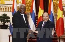 Le Premier ministre soutient une coopération Vietnam-Cuba renforcée