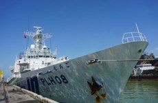 Un navire de la Garde côtière du Japon en visite au Vietnam