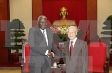 Le leader du PCV veut resserrer l'amitié et la solidarité spéciale Vietnam-Cuba