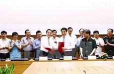 VNA et Hanoi signent un programme de coordination du travail 2017-2021