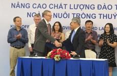 La Norvège aide le Vietnam dans la formation en aquaculture