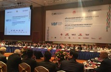 Forum d'affaires du Vietnam de mi-mandat 2017