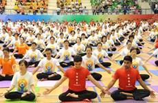 La 3e Journée internationale du Yoga célébrée à Can Tho