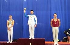 Gyms aux agrès: les Vietnamiens médaillés d'or lors de tournois internationaux