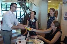 Collecte de livres à l'occasion de la Journée de la diplomatie solidaire