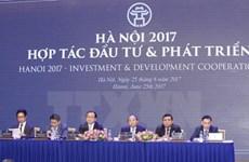 """La conférence """"Hanoi 2017 - Coopération, Investissement et Développement """""""