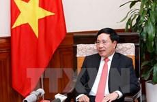 Le vice-PM Pham Binh Minh souligne la coopération intégrale Vietnam-Cambodge