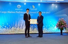Vietnam Airlines reçoit des prix régionaux pour la haute qualité de ses services aéroportuaires