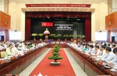 Ouverture de la 10e Conférence du Comité du Parti pour HCM-Ville (10e mandat)