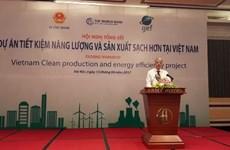 Économie efficace de l'énergie et production saine