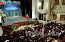 Célébration des 50 ans des relations diplomatiques Vietnam-Cambodge à HCM-Ville