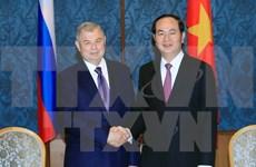 Le président Trân Dai Quang en visite à Saint-Pétersbourg