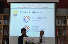 Logo - Slogan : l'Institut francophone international change de couleurs