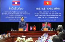 La présidente de l'AN du Laos en visite de travail à Son La
