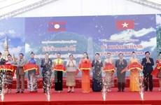 Inauguration du vestige historique Vietnam-Laos