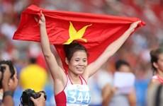 Nguyen Thi Huyen championne d'Asie sur 400 m haies