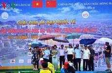 La course cycliste internationale se termine à Lao Cai