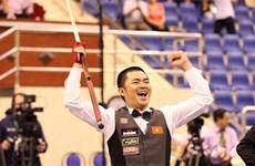 Des sportifs  vietnamiens médaillés d'argent lors de tournois sportifs mondiaux