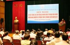 La HAUFO : «passerelle» d'amitié entre Hanoï et le monde