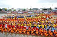 La fête Ok Om Bok et la course de pirogues de Soc Trang