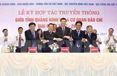 Quang Ninh coopère avec quatre organes de presse