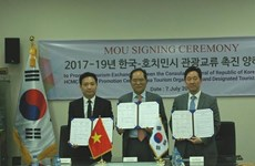 Hô Chi Minh-Ville et la R. de Corée promeuvent leur coopération dans le tourisme