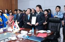 Coopération entre la ville sud-coréenne d'Incheon et l'Université Nguyên Tât Thành