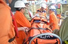 Un marin chinois secouru au large de la ville de Vung Tau