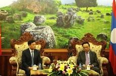 Resserrer l'amitié et la coopération entre le Vietnam et Xieng Khouang (Laos)