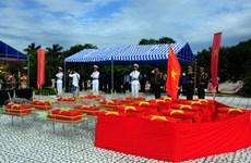 Long An a rapatrié les restes de 2.259 soldats tombés au Cambodge